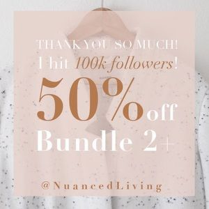 TODAY ONLY - 50% off bundles of 2+ items 💕